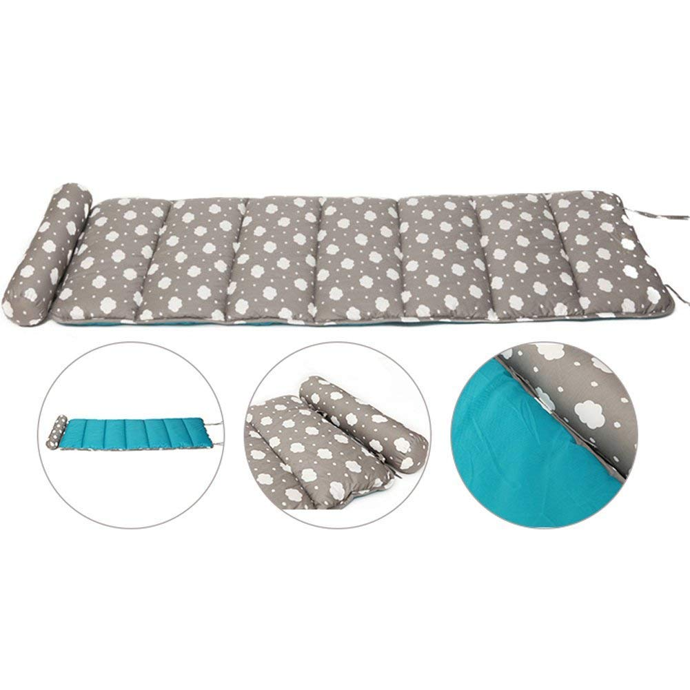 OLizee Super Soft Adult Sleeping Mat Nap Mat with Removable Pillow (Grey Cloud) by OLizee