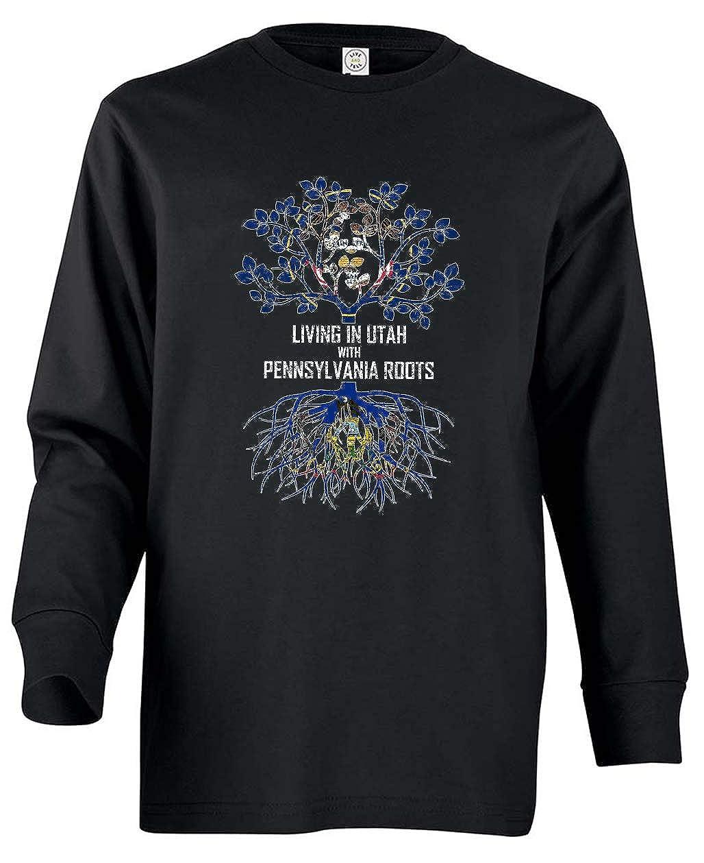 Tenacitee Babys Living in Pennsylvania with Utah Roots Shirt