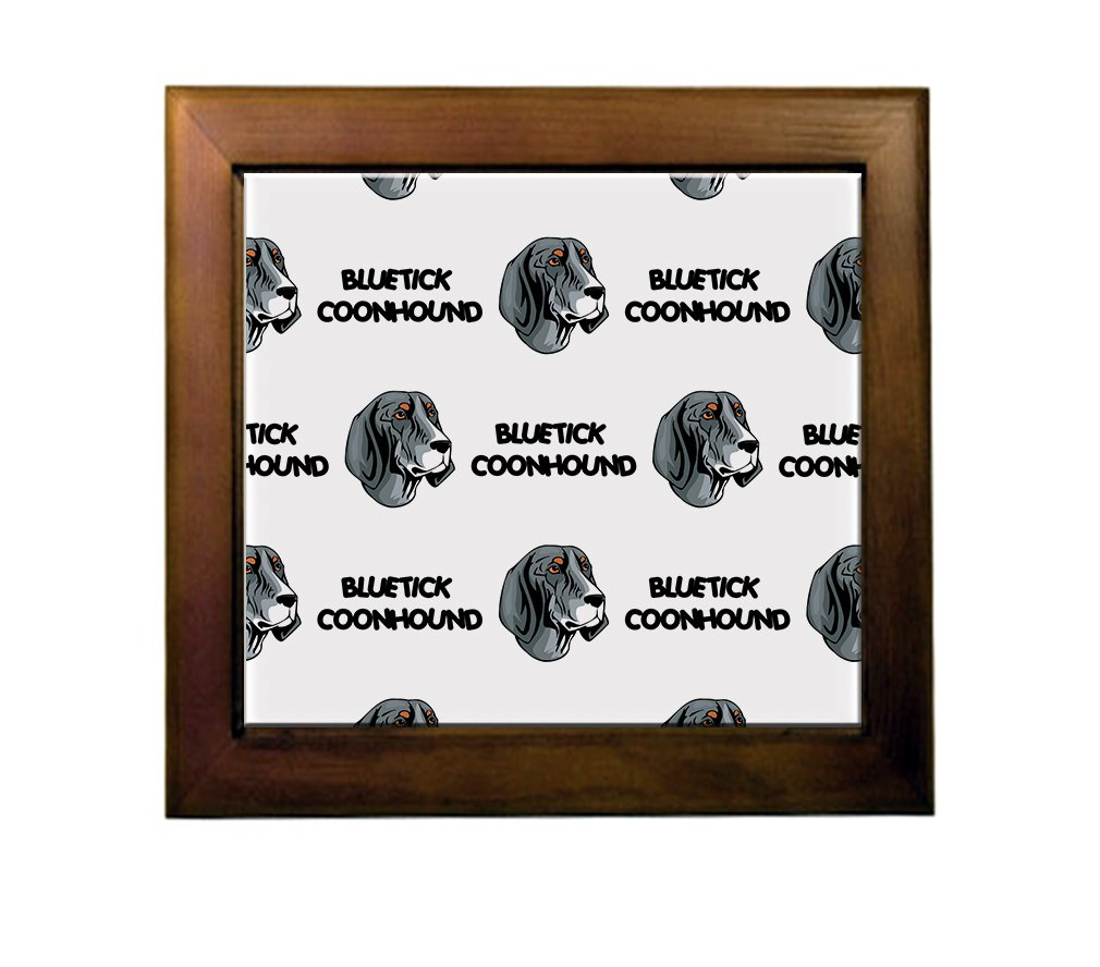 cheap Bluetick Coonhound Dog Breed Ceramic Tile Backsplash Accent Mural