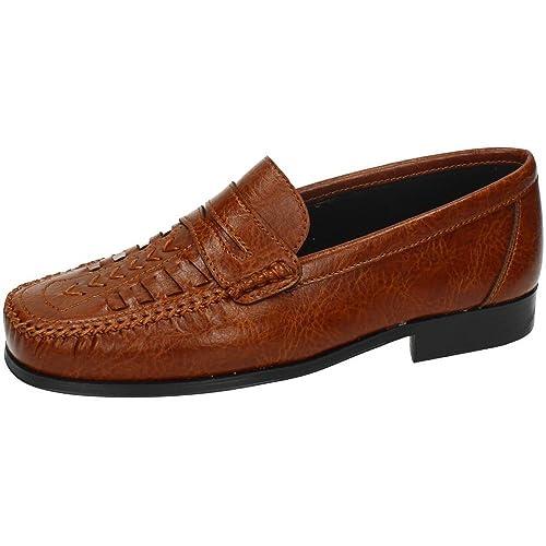 MADE IN SPAIN 6813 Zapatos Mocasines Hombre Zapatos MOCASÍN Cuero 40: Amazon.es: Zapatos y complementos