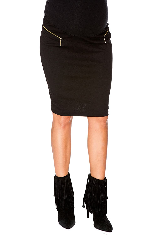 Jupe de maternité et grossesse Mia noir MY TUMMY ®©™