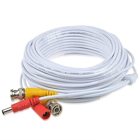 Cable de cable de alimentación y vídeo BNC todo en uno prefabricado con conector para cámara