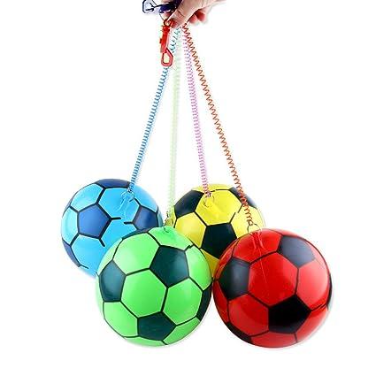 OHQ 9 Inch Juguete de Fútbol Hinchable para Niños al Azar ...