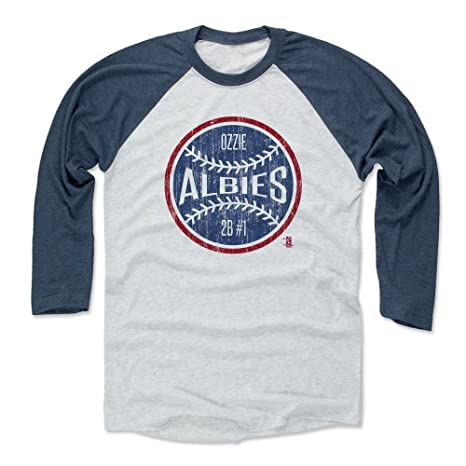 500 LEVEL Ozzie Albies Baseball Tee Shirt X-Small Indigo Ash - Atlanta  Baseball 529271600