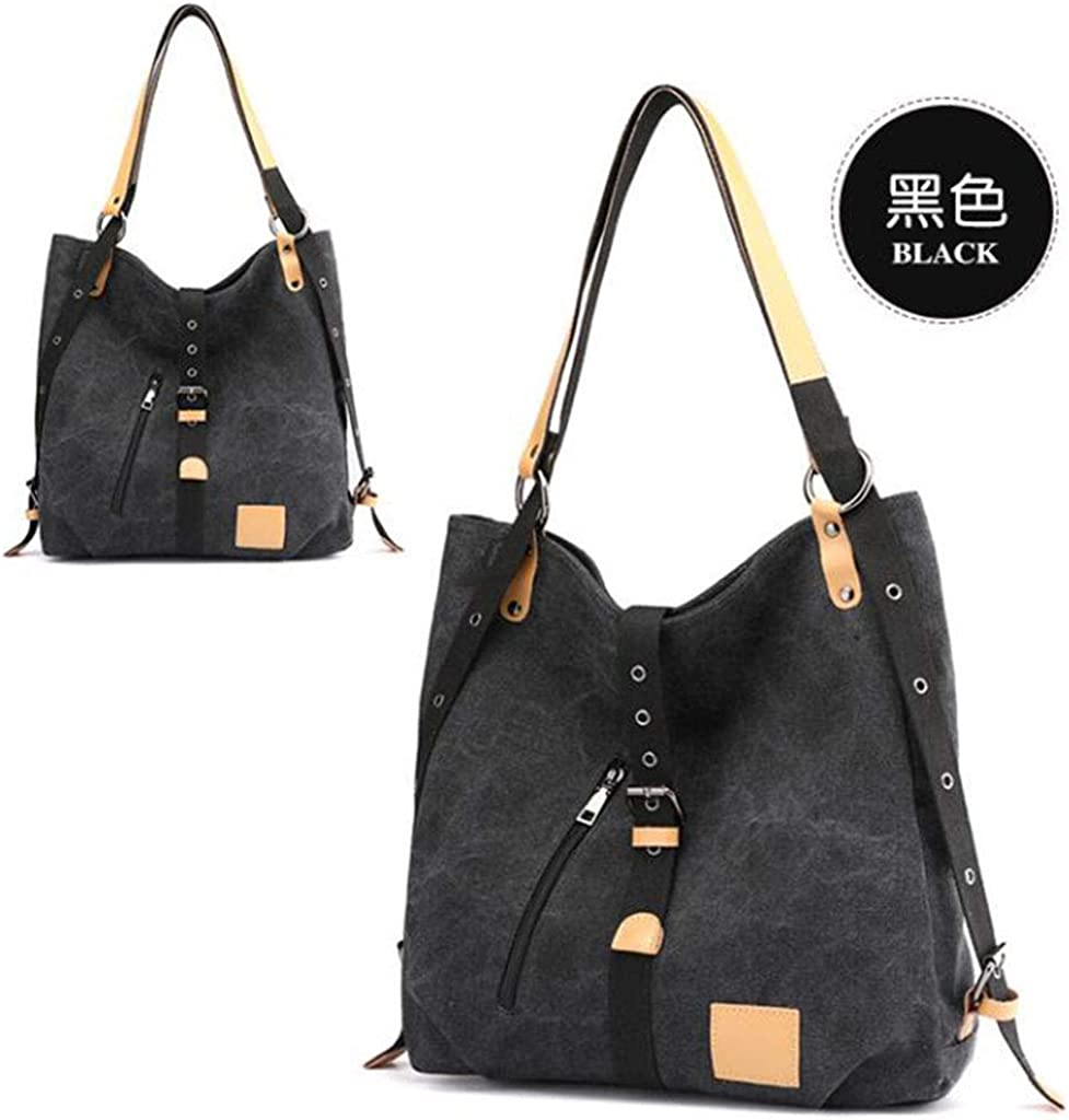 JXHJQY Women Genuine Leather Multifunction Handbags Soft Backpack Shoulder Bags Color : Color Brown, Size : OneSize