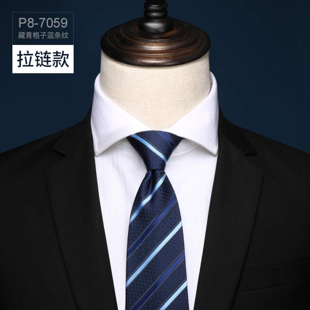 Corbata para traje azul marino