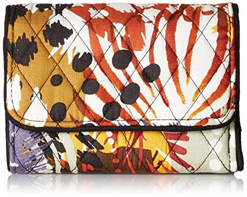 Vera Bradley Riley Compact Wallet, Signature Cotton