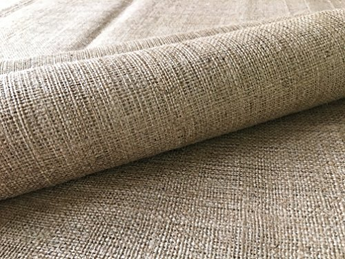- Burlapper Burlap Heavy-Weight Garden Fabric (40 Inch x 30 Feet, Natural)