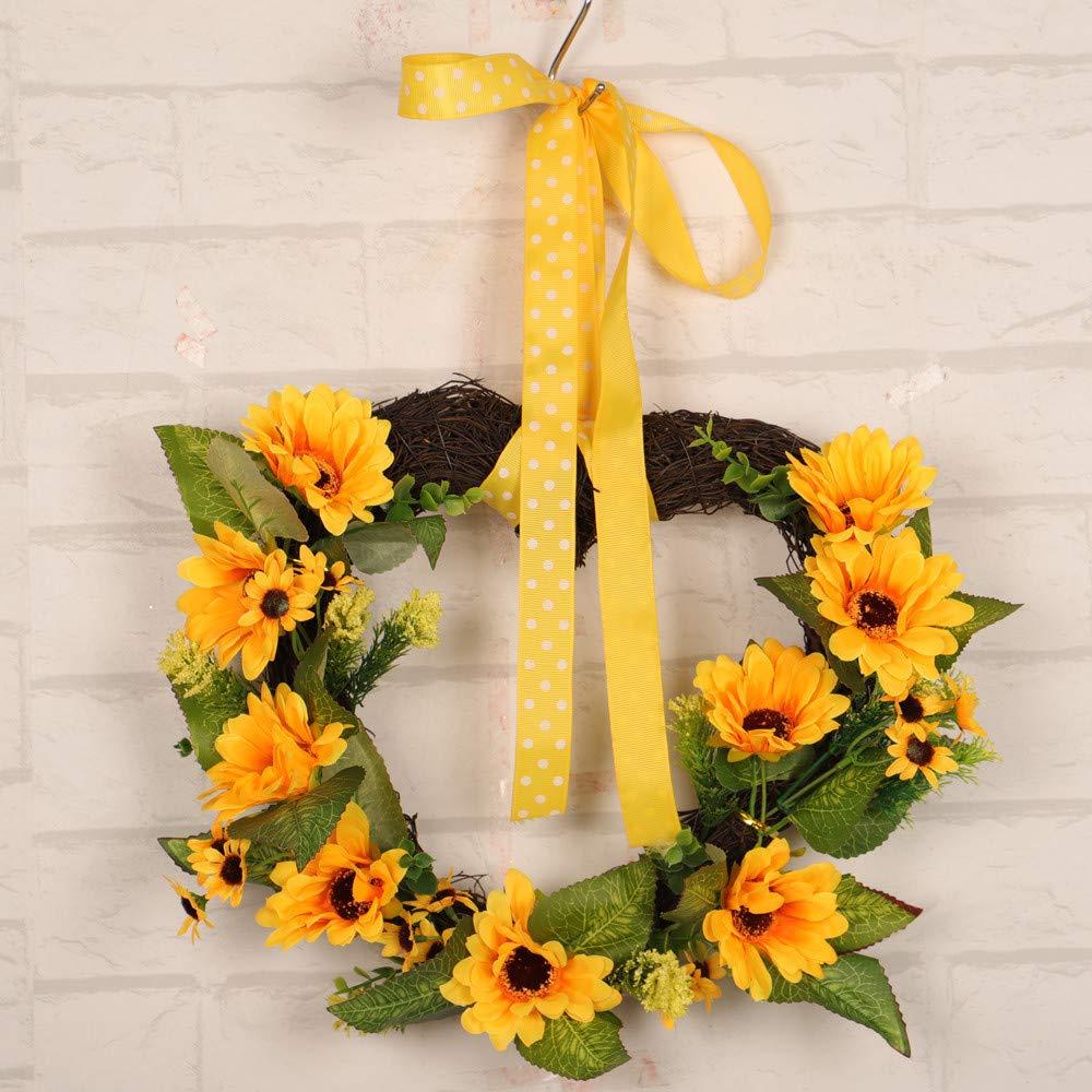 Decoración para el hogar, Corona de Flores, Elevin (TM) 30 ...