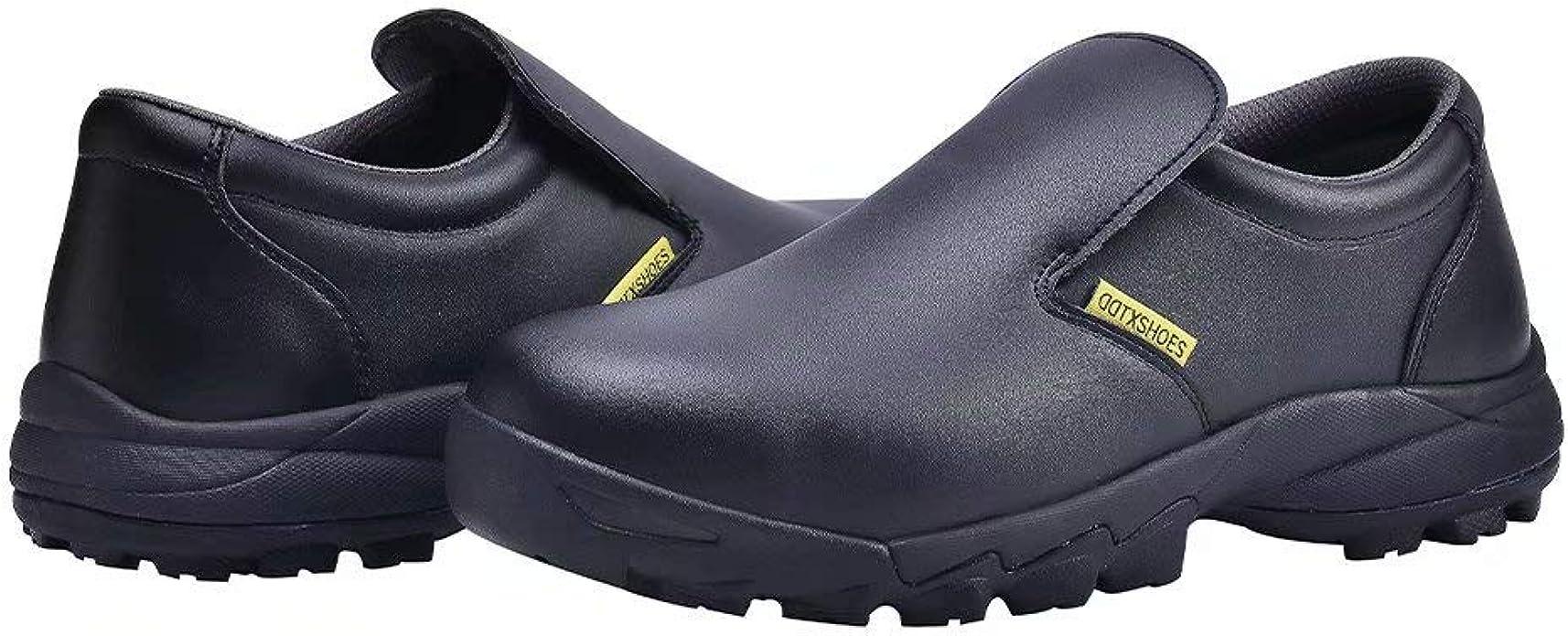 DDTX Safety Shoes for Men Oil Slip