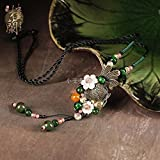 Generic Hot national _wind_ sweater chain _length_ women girl _models_ fashion summer necklace Pendant ornaments Retro necklace Pendant _Yunnan