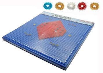 Natural & Alternative Remedies Health & Beauty Acupressure Magnetic Pyramidal Therapy Energy Pain Relief Health Power Foot Mat 100% Original