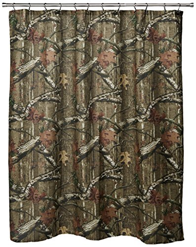 Oak Bathroom (MOSSY OAK Camouflage Shower Curtain)