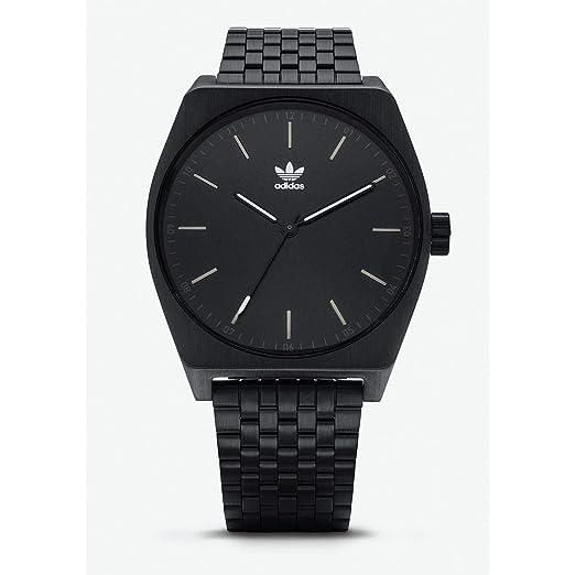 Adidas Reloj Analógico para Hombre de Cuarzo con Correa en Acero Inoxidable Z02-001-00: Amazon.es: Relojes