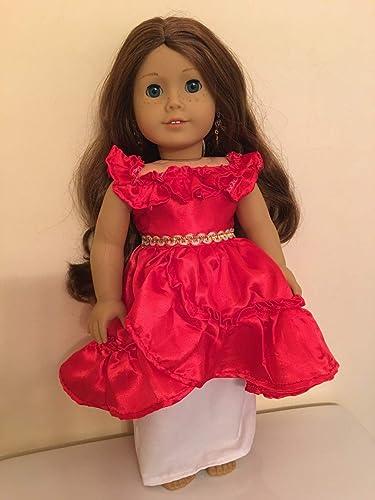 Handmade 18 inche American Girl Doll Clothes Princess Dress Fits  American Girl