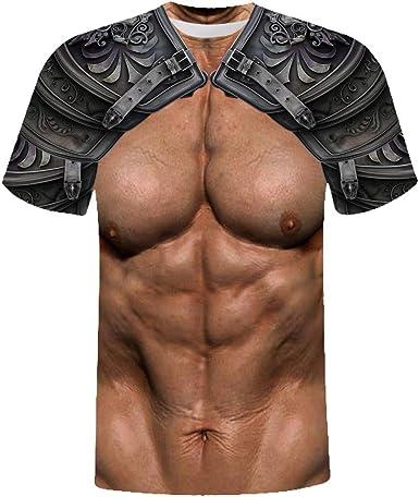 Sylar Camiseta Hombre Verano Retro 3D Impresión Armadura T ...