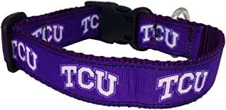 product image for NCAA TCU Horned Frogs Dog Collar (Team Color, Medium)