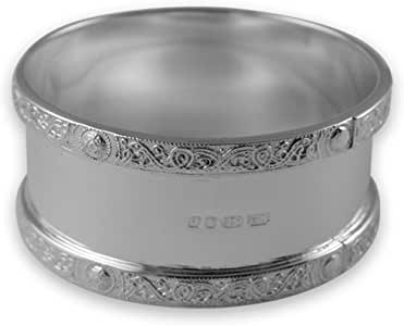 Oval Made in Italy Sterling Silver Napkin Ring