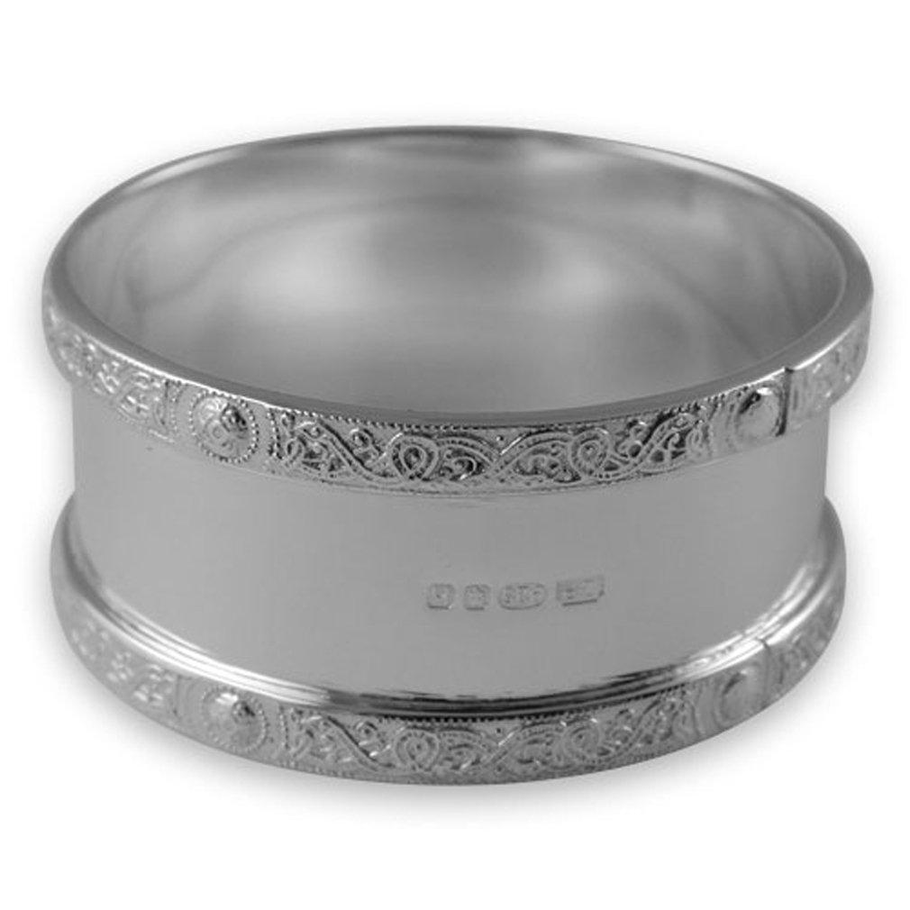 Sterling silver Celtic napkin ring