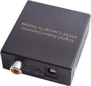 eWINNER Digital Audio SPDIF Coaxial To Toslink Converter