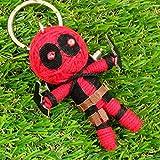 Deadpool Doll Keyring Keychain Comic Theme