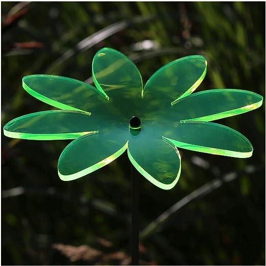 En verre acrylique attrape papillon 14 cm fluo transparent Fluorescent