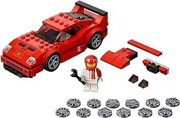 LEGO Speed Champions - Ferrari F40 Competizione, juguete de construcción coche deportivo de carreras (