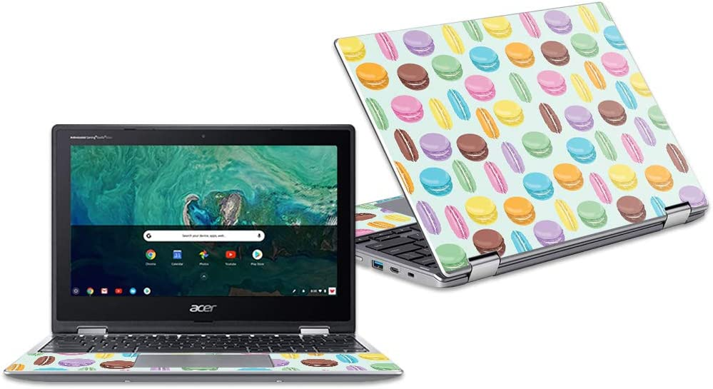 "MightySkins Skin Compatible with Acer Chromebook Spin 11"" CP311 - Macarons 