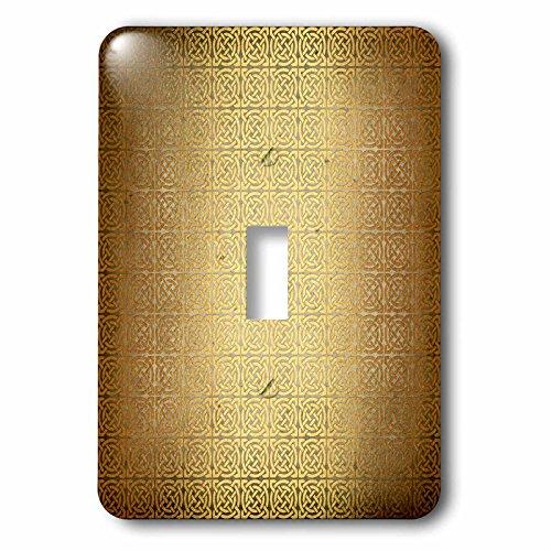 3dRose Anne Marie Baugh - Patterns - Fancy Faux Gold Celtic