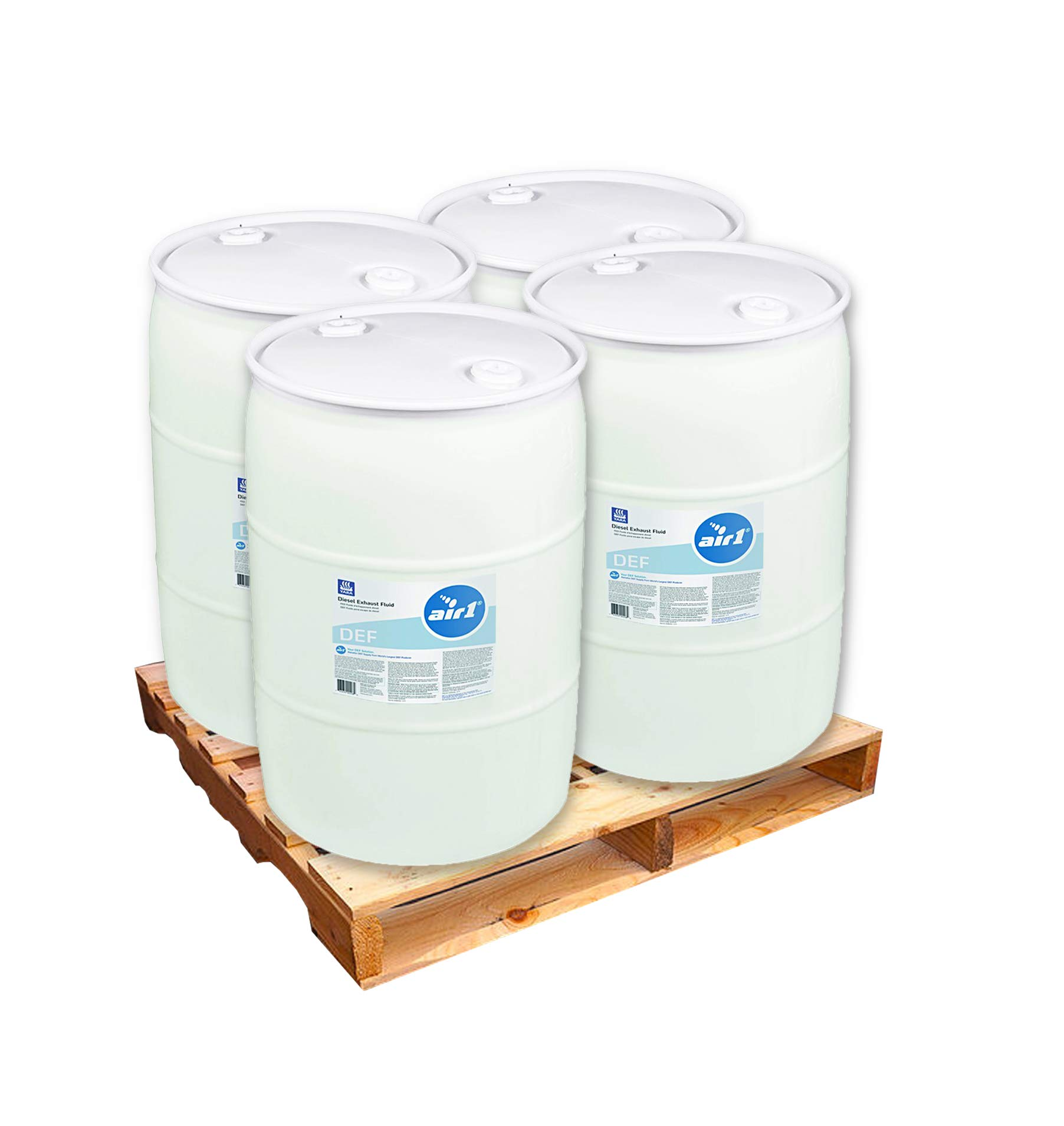 Air 1 Diesel Exhaust Fluid 4 X 55 Gallon Drums by Silver Transfer STS-55NA1 (Lift GATE DEL)