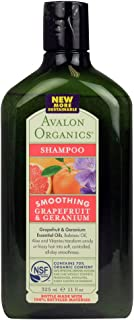 product image for Avalon Grapefruit and Geranium Smoothing Shampoo, 11 Ounce