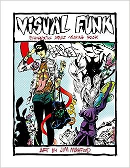 Amazon.com: Visual Funk Street Art Adult Coloring Book ...