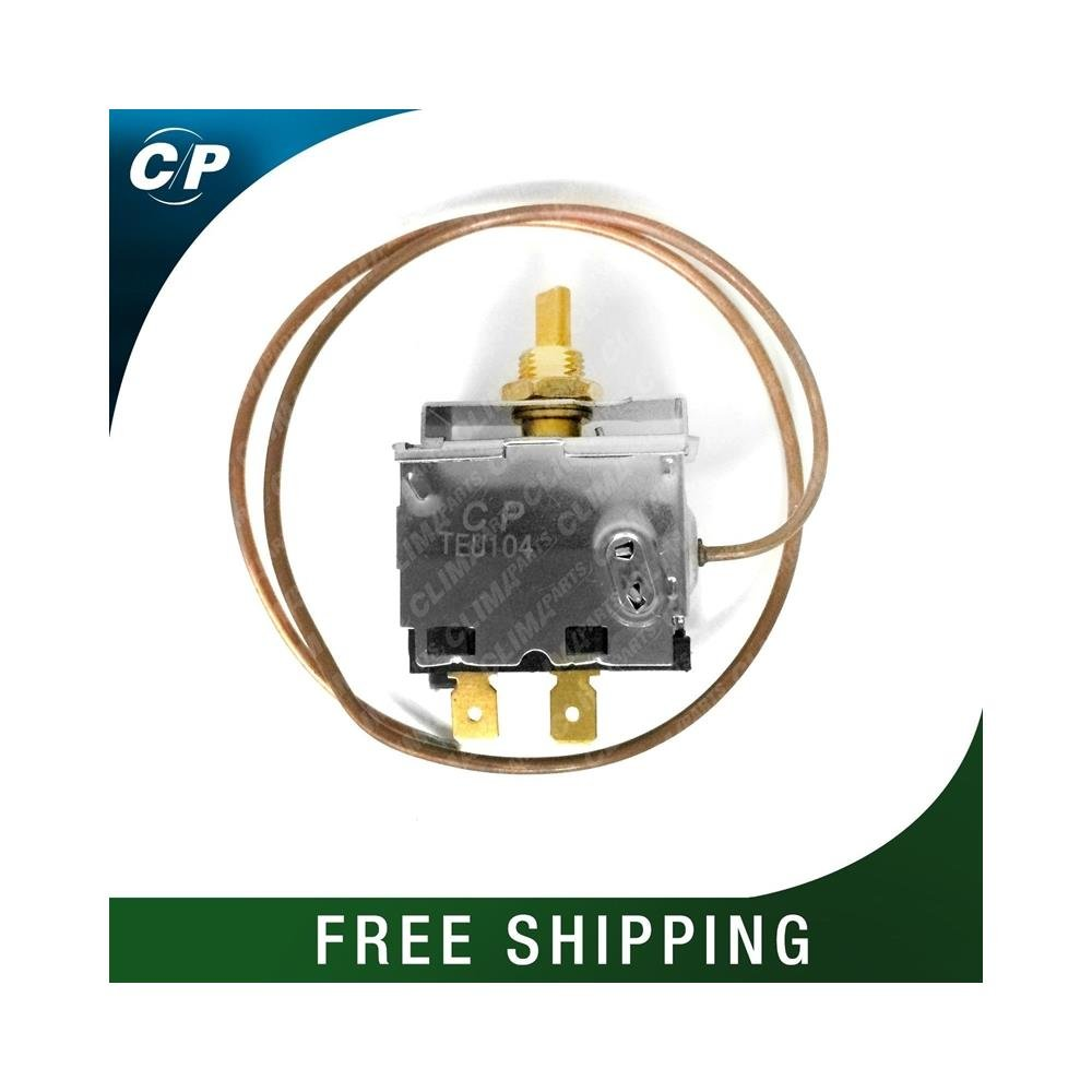 CLIMAPARTS TEU104 AC Switch Universal Thermostatic Switch (Rotary) Copper Capillary Tube