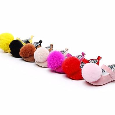 Amazon.com: Amiley - Zapatos para bebé con diseño de primera ...