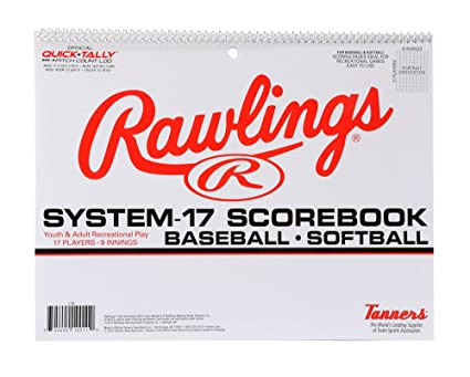 c5e3c89b95a3 Amazon.com : Rawlings System-17 Baseball Scorebook : Coach And ...