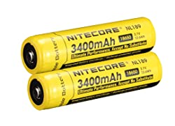 NITECORE NL189 – 18650 battery review