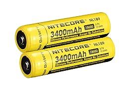NITECORE NL189 – 18650 battery review