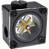 Alphacool 17350 Eisfluegel Durchflussanzeiger G1/4 Eckig - Acetal Wasserkühlung Überwachung