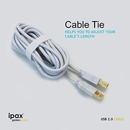 10 Feet, Black ReadyPlug USB Cable Compatible with Brother HL-3170CDW Digital Color Printer with Wireless Networking and Duplex LYSB00G0BDKAU-ELECTRNCS