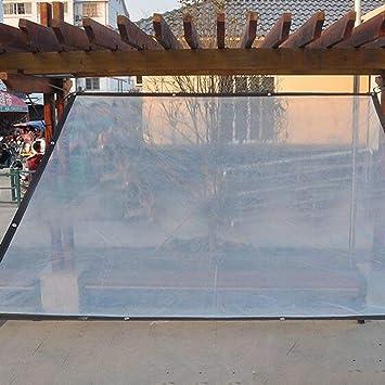 WUHX Película de plástico Transparente Gruesa Ribete a Prueba de ...