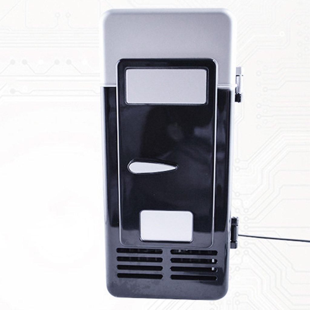 Negro USB Nevera Bebida Refrigerador Sistema de Refrigeraci/ón Cerveza de Bebida Vino de Cerveza Viaje