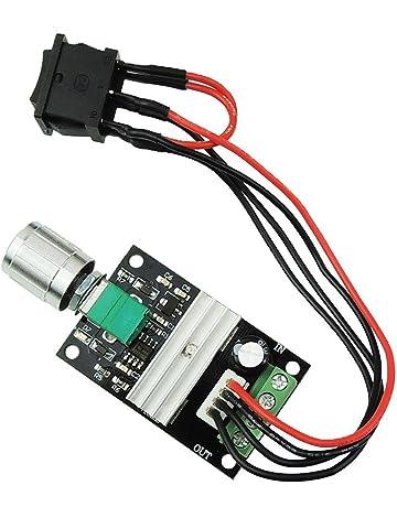 UEETEK 1203BB 6V 12V 24V 3A 80W Controlador de la velocidad del motor de la CC