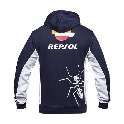 Amazon.com: Chaquetas |Algodón Marquez 93 MM93 Repsol Zip ...