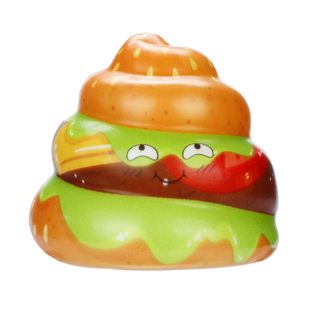 Makeupstore Stress Relief Toys,Squishies Kawaii Cream Cake Poo Slow Rising Cream Scented Stress Relief Toys