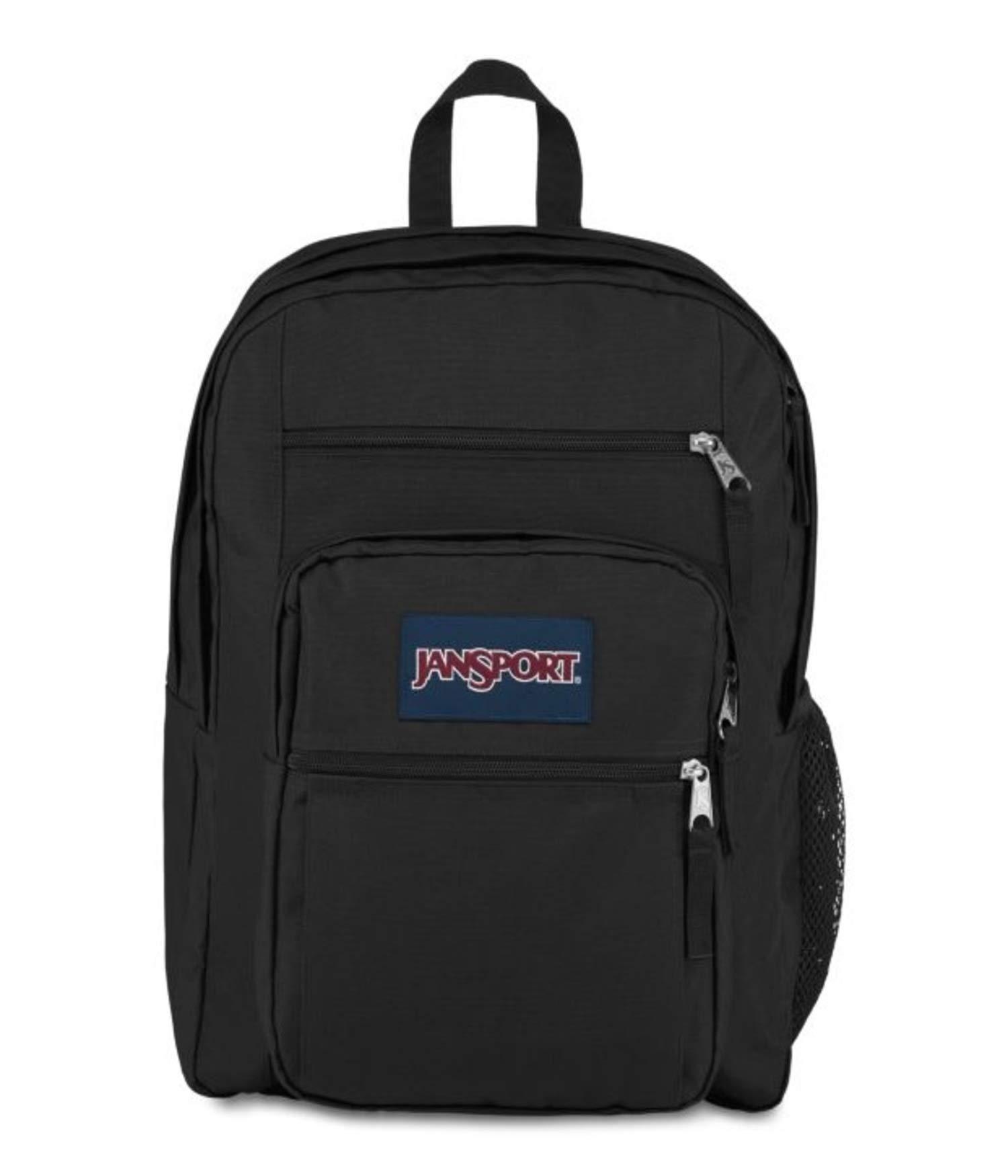 JanSport TDN7 Big Student Backpack, OS, A/Black (Noir)