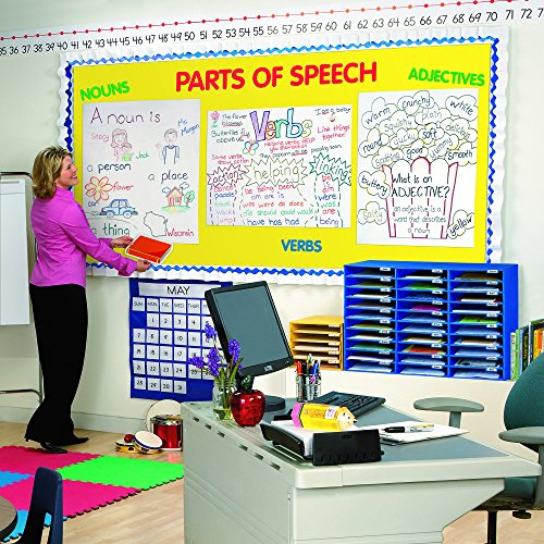 Amazon.com : Pacon Classroom Keepers 30-Slot Mailbox, Blue (001318 ...