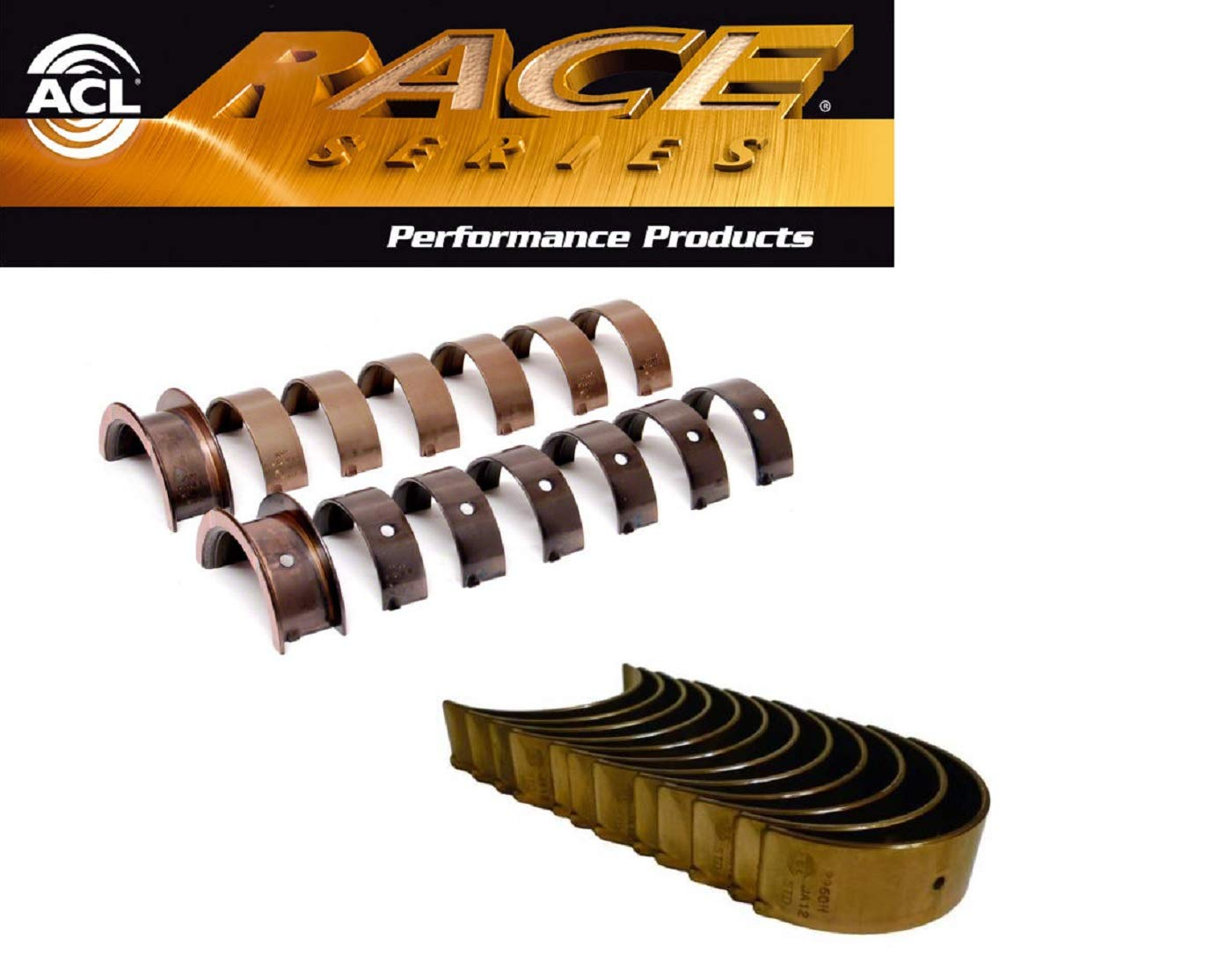 ACL Race Rod /& Main Bearings Set compatible with Nissan RB25DET RB25DE RB25 R32 R33 STD