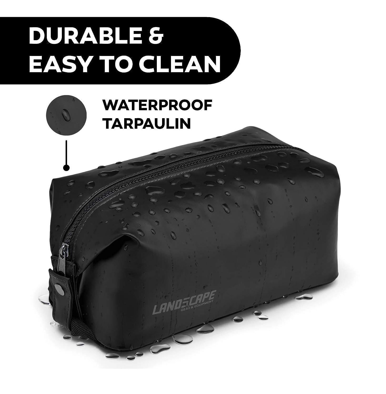 73a6c5070e77 LAND5CAPE - Waterproof Tarpaulin Dopp Kit, Toiletry Bag Organizer for  Travel, Gym, Yoga, Camping,...