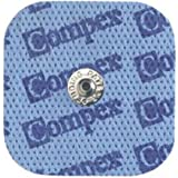 Compex Dura-Stick Plus - 1 SNAP - 50 x 50 mm - Sachet de 4 électrodes