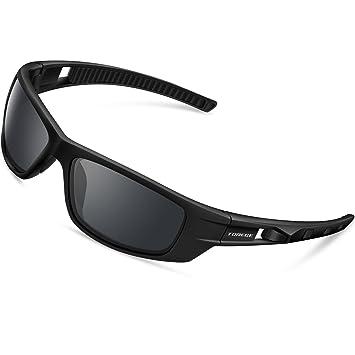 Gafas de Sol Deporte hombre Polarizadas, anti rayos 100% UVA & UVB Marco Aleación de Aluminio, Para Hombre Perfectas Para Esquiar Golf…